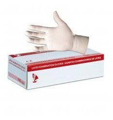 Guantes látex micropigmentación (100 uds)