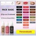Pack Personalizado: 5 Pigmentos (15 mL)