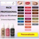 Pack Personalizado: 10 Pigmentos (15 mL)