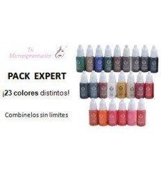Pack Expert: 23 Pigmentos micropigmentación (15 mL)