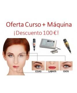 curso micropigmentación Madrid precios máquina