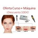 Oferta: Curso + Máquina Micropigmentación