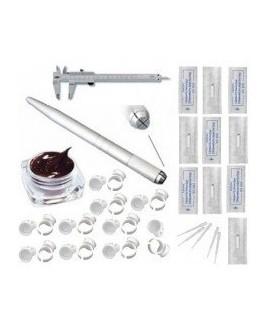 kit Microblading cejas precio agujas pigmentos
